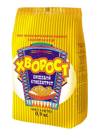 """П/ф мучных изделий Пищевой концентрат """"Хворост"""" СТБ 954-94"""