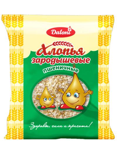 Хлопья Daloni пшеничные зародышевые